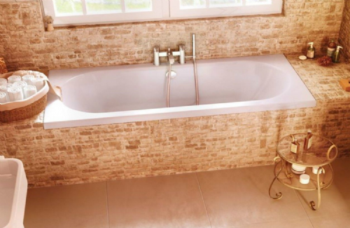 Cleargreen Verde Double Ended Bath 1800mm x 800mm